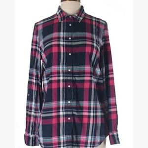 Tommy Hilfiger Plaid Button Down size M